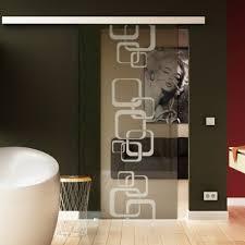 schiebetür glas wohnzimmer softclose opt levidor glaslager de