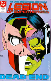 Legion Of Super Heroes 1984 3rd Series 22