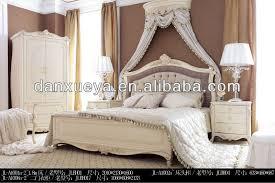 Danxueya Classic Italian Provincial Bedroom Furniture Set Luxurious Teak Wood