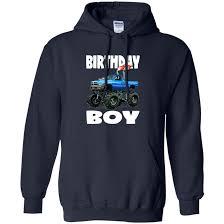 100 Monster Truck T Shirts Birthday Boy Vintage Bday Boys Fire Shirt Hoodie