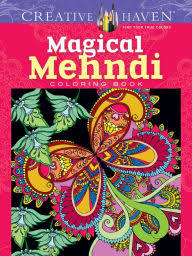 Magical Mehndi Coloring Book