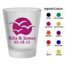 Frosted Shot Glasses Clipart 1302 Sunset Setting By MyWeddingStore