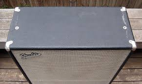 Fender Bassman Cabinet 1x15 by Vintage Late 1960s Fender Bassman 2x15