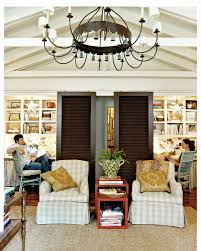Southern Living Family Room Photos by The Shabby Nest Southern Living Style