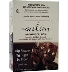 Nugo Nutrition Slim Bar Brownie Crunch 12 Bars