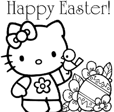 Easter Coloring Pages Online Within To Print