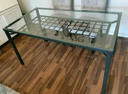 ikea granas wohnzimmer esszimmer schwarz mit 4 stühlen