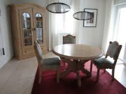 runde tisch stuhl sets aus holz fürs wohnzimmer günstig