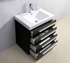 30 Inch Bathroom Vanity by Virtu Usa Bailey 30 Single Bathroom Vanity In Wenge Bathtubs Plus