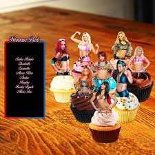 Wwe Wrestling Room Decor by Cupcake Toppers Wwe Cupcake Toppers Wrestling Wwe