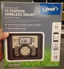 Orbit Hose Faucet Timer by Orbit 12 Station Indoor Outdoor Irrigation Timer On Lowes Com