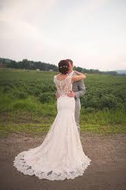 Farm Wedding Dress Ideas Rustic Chic Vermont Lace Dresses Restaurant Reception