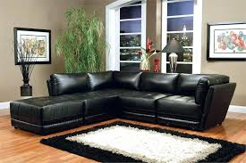 Buchannan Faux Leather Sectional Sofa by Black Faux Leather Sectional Sofa Bed With Left Facing Storage