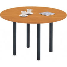 table ronde bureau table ronde pied 4 pieds fixes h s
