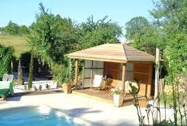 construire une cuisine d été cuisine d ete en bois pavillons dactac construire sa cuisine dete en