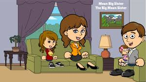 Caillou Scares Rosie In The Bathtub by Mean Big Sister Series Season 1 Episode 1 The Big Mean Sister