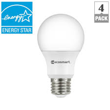 ecosmart 40w equivalent soft white a19 energy dimmable led