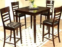 High Dining Table Set Luxury Tables Triangle Counter Height Room