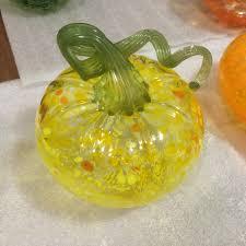 Glass Hand Blown Pumpkins by Blown Glass