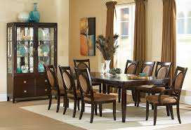 dining set 5 piece glass dining table set 4 leather chairs