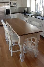narrow kitchen island table Kitchen Table Gallery 2017
