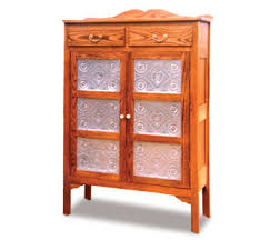 Cabinets Punched Tin Pie Safe Wood Plan