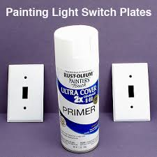 Buying Switch Plates vs Painting Switch Plates DIY