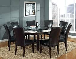 Upholstered Dining Chairs Contemporary Room Modern Minimalist Brown Table Beige Fabric Dark Chair
