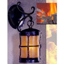 Mica Lamp Company Ceiling Fans by Mica Lamp Company Lf403b Hand Forged Black Iron Wall Sconce