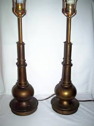 Stiffel Brass Lamp Value by Vintage Stiffel Lamps Unforeseen Beauty Every Home Needs