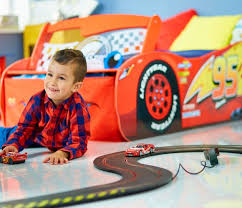 Lighting Mcqueen Toddler Bed by Disney Cars Lightning Mcqueen Toddler Bed With Light Up Windscreen