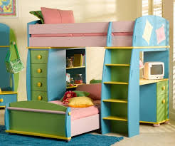 Bunk Bed Desk Combo Plans by Bunk Bed With Desk Plans Kids Loft Bed With Desk Wood All Home