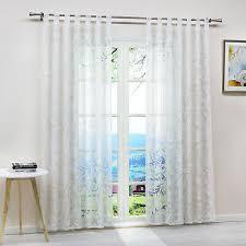 gardinen ausbrenner vorhänge wohnzimmer transparent
