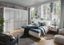 wiemann schlafzimmer barcelona in bianco eiche nachbildung glas chagner 0558007400