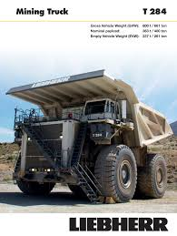 Liebherr T 284 User Manual | 24 Pages Off Highwaydump Trucks Arculating Liebherr Ta 230 Litronic Delivers Trucks To Asarco Ming Magazine T282 Heavyhauling Truck Pinterest T 264 Time Lapse Youtube Ltb 1241 Gl Conveyor Belt For Truckmixer Usa Co Formerly Cstruction Equipment 776 On The Wagon Monster Iron Heavy Stock Photos Images Alamy Autonomous Solutions Inc And Newport News Rigid Specifications Chinemarket