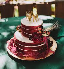 Delicious Red Velvet Wedding Cakes