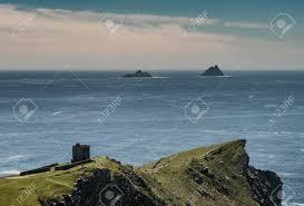 100 Bray Island Skellig S Seen From Head Valentia In Ireland Stock