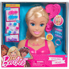 Barbie Glam Party Styling Head Blonde BIG W