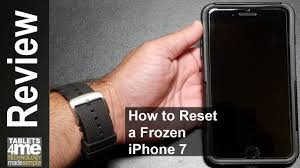 Frozen Apple iPhone 7 Here is how Soft Reset a Frozen Apple