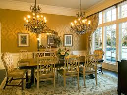 Chandelier Over Dining Room Table by Interior Drop Dead Gorgeous Dining Room Decoration Using Black