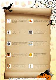 Halloween Scavenger Hunt Clue Cards by Halloween Goody Bag Ideas Best 25 Halloween Treat Bags Ideas