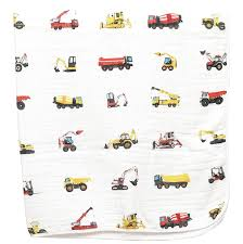 100 Everything Trucks Organic Construction Blanket ADDISON BELLE