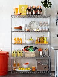 Kitchen Storage Ideas Pinterest by Wonderful Kitchen Storage Stand Best 25 Metal Storage Shelves