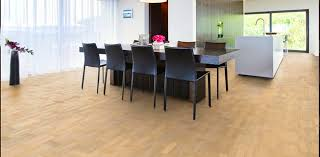 Real Hardwood Flooring Used In Open Concept Kitchen Dining Room Area From Foster