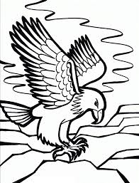 Bald Eagle Coloring Pages Printable