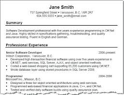 Sample Summary In Resume Samples For It Professionals