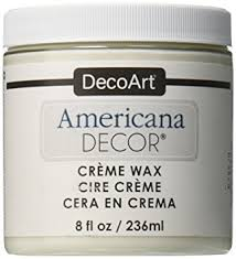 amazon com deco art americana decor creme wax 8 ounce clear