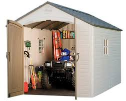 lifetime 8 x 12 outdoor storage shed 6402 on sale