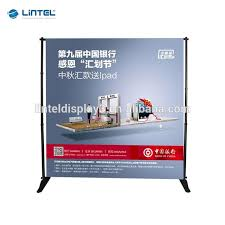Trade Show Display Aluminum Backdrop Stand Wall