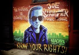 Joe Strummer Mural Nyc Address by A7 Former In New York Beastie Boys Agnostic Front Murphy U0027s